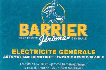 Logo BARRIER JEROME