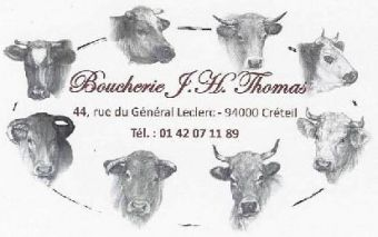 Logo BOUCHERIE THOMAS